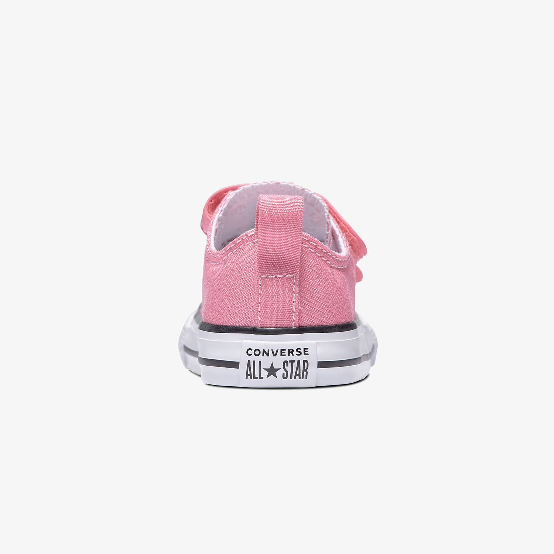 Converse Chuck Taylor All Star 2V Hook And Loop Bebek Pembe Sneaker