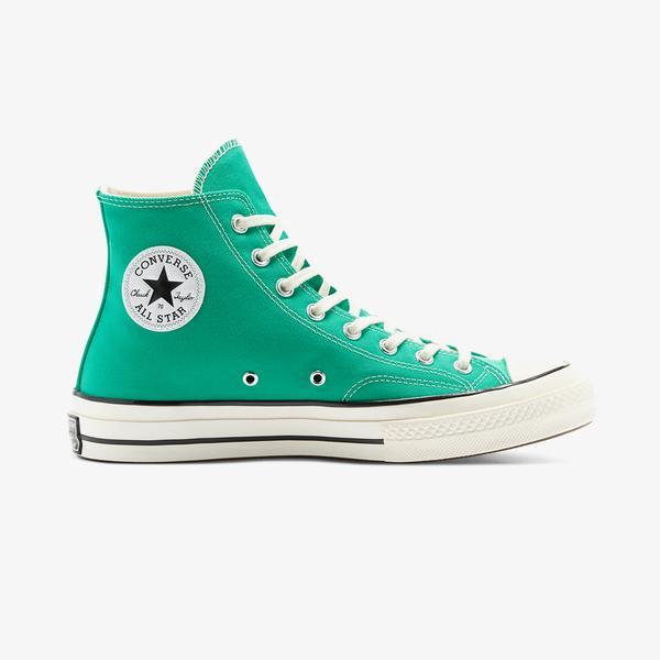 Converse Chuck 70 Recycled Canvas Hi Kadın Yeşil Sneaker