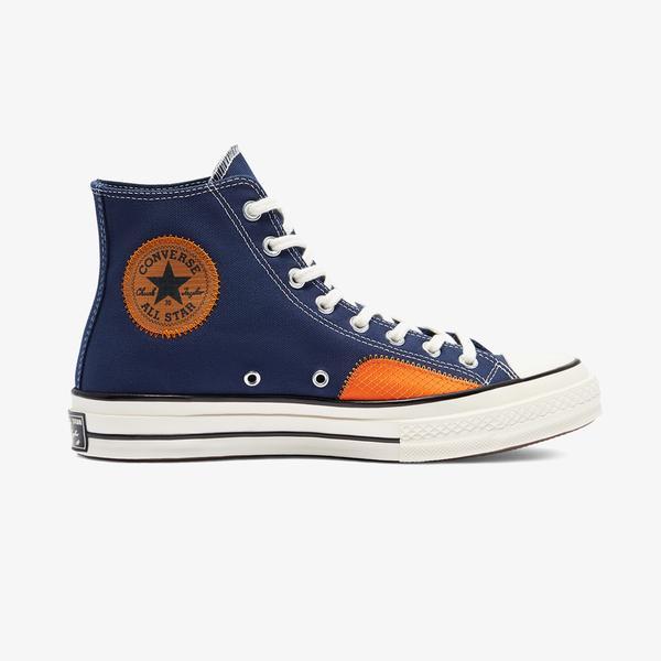 Converse Chuck 70 Ripstop And Canvas Hi Unisex Mavi Sneaker