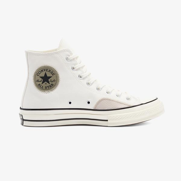 Converse Chuck 70 Ripstop And Canvas Hi Unisex Yeşil Sneaker