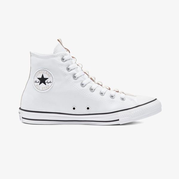 Converse Chuck Taylor All Star Utility Webbed Hi Unisex Beyaz Sneaker