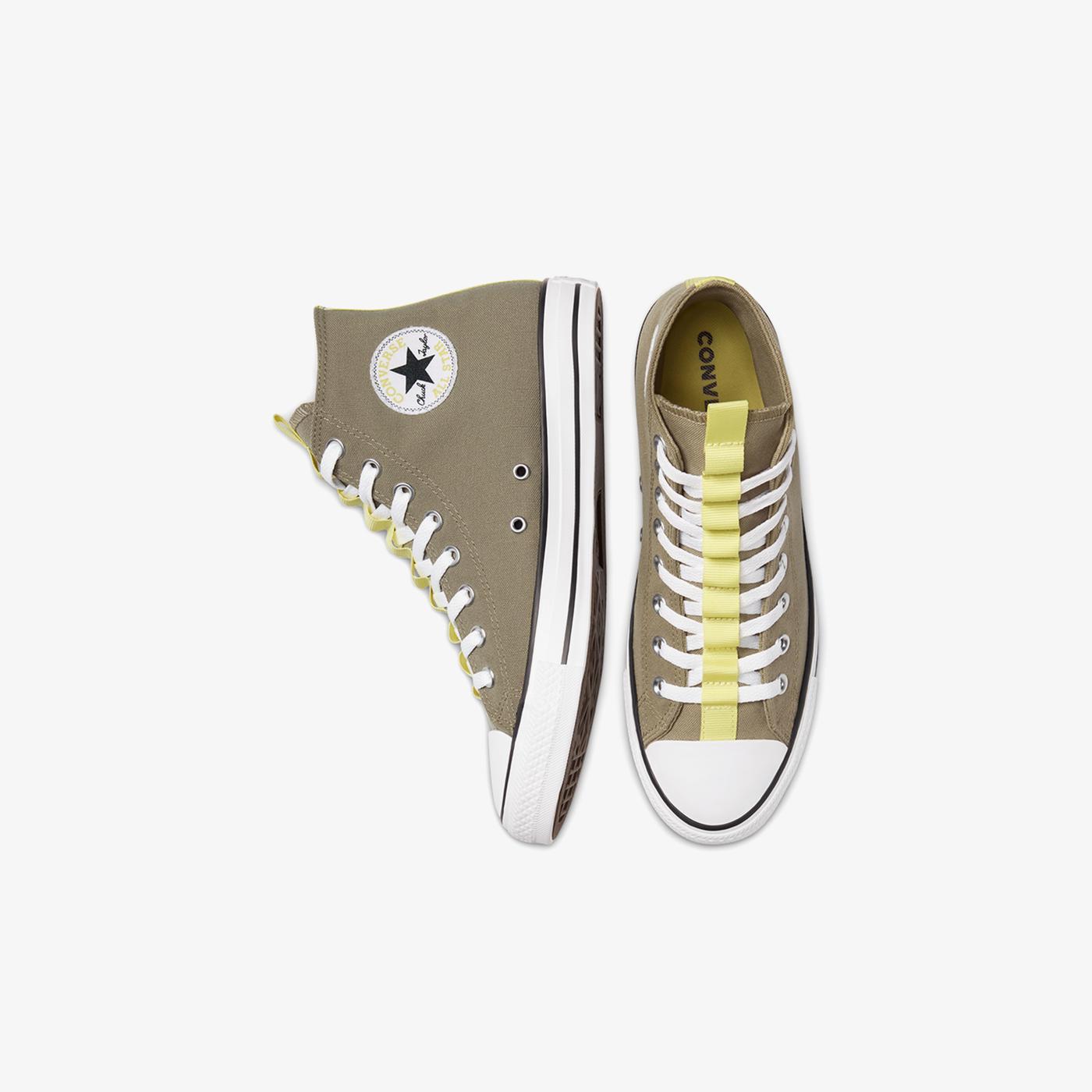 Converse Chuck Taylor All Star Utility Webbed Hi Unisex Gri Sneaker