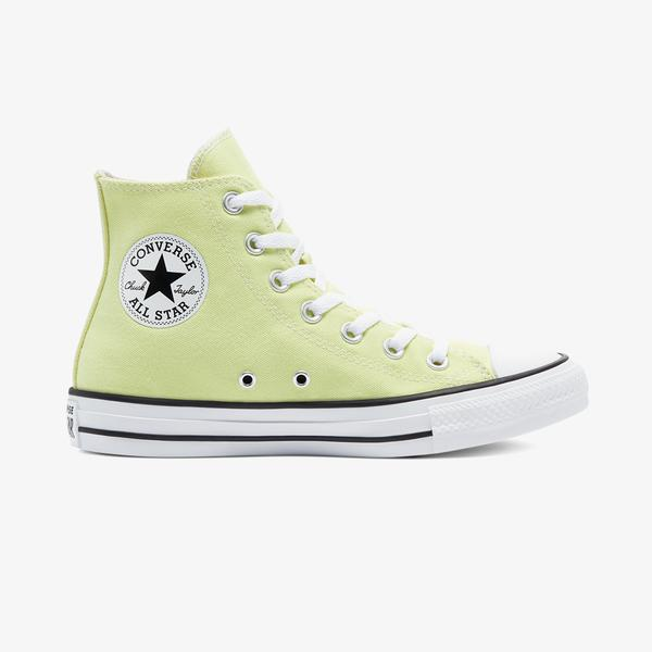 Converse Chuck Taylor All Star Seasonal Color Hi Kadın Sarı Sneaker