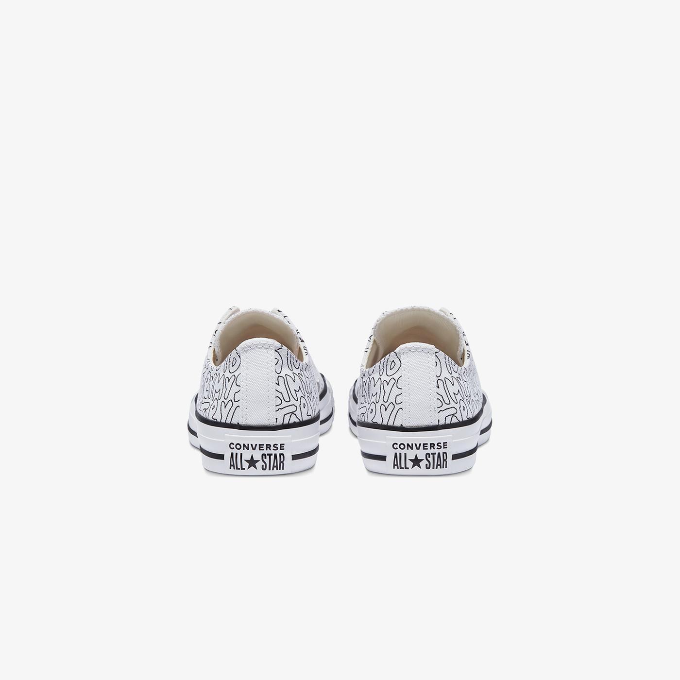 Converse Chuck Taylor All Star My Story Kadın Beyaz Sneaker