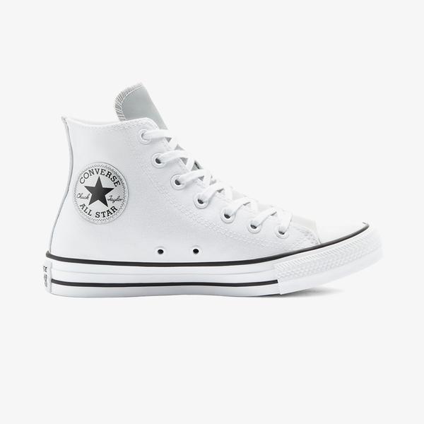 Converse Chuck Taylor All Star Mono Metal Hi Kadın Beyaz Sneaker
