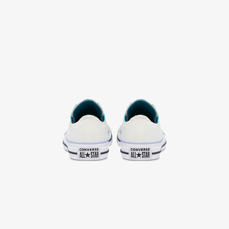 Converse Chuck Taylor All Star Marbled Mash-Up Kadın Krem Sneaker