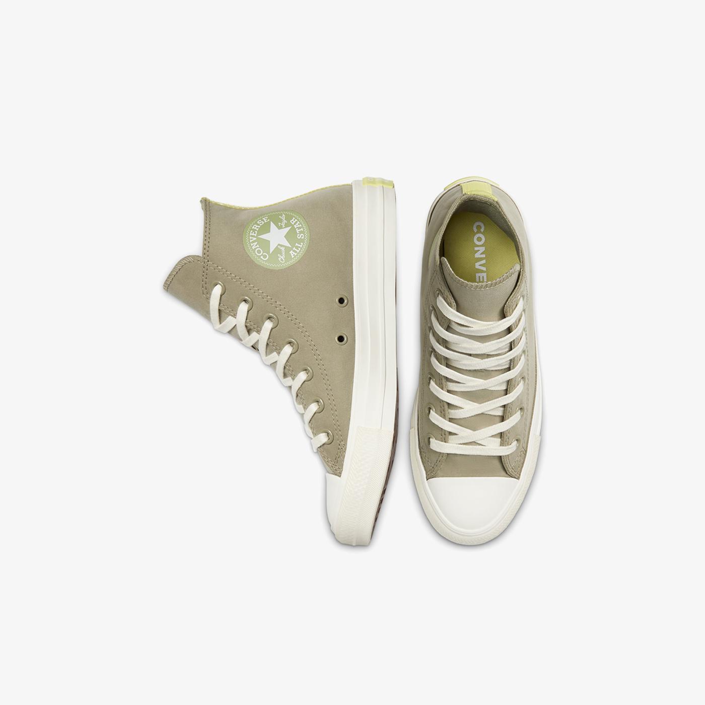 Converse Chuck Taylor All Star Peached Perfect Hi Kadın Gri Sneaker