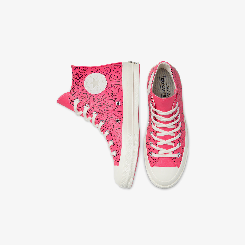 Converse Chuck 70 My Story Leather Hi Kadın Pembe Sneaker