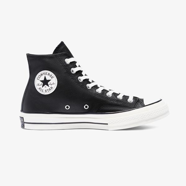 Converse Chuck 70 Leather Hi Unisex Siyah Sneaker