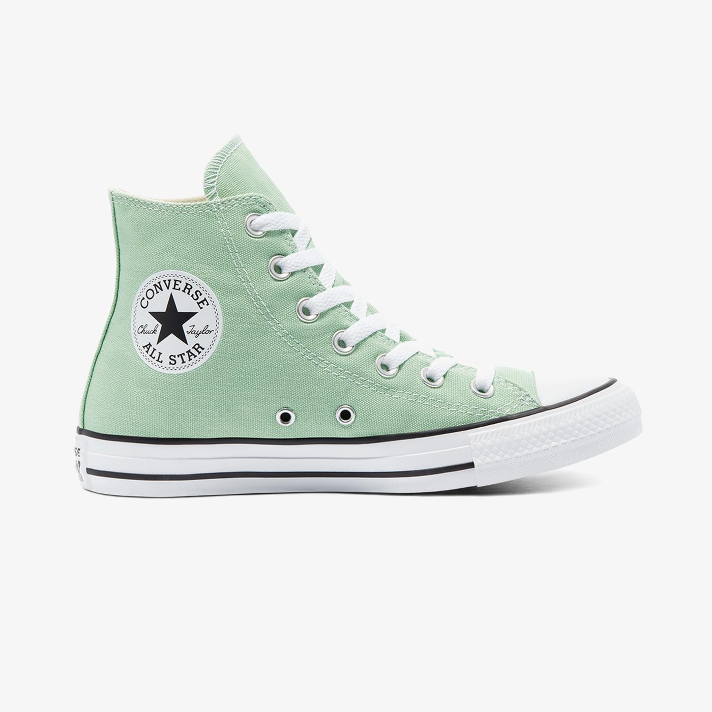 Converse Chuck Taylor All Star Seasonal Color Hi Kadın Yeşil Sneaker
