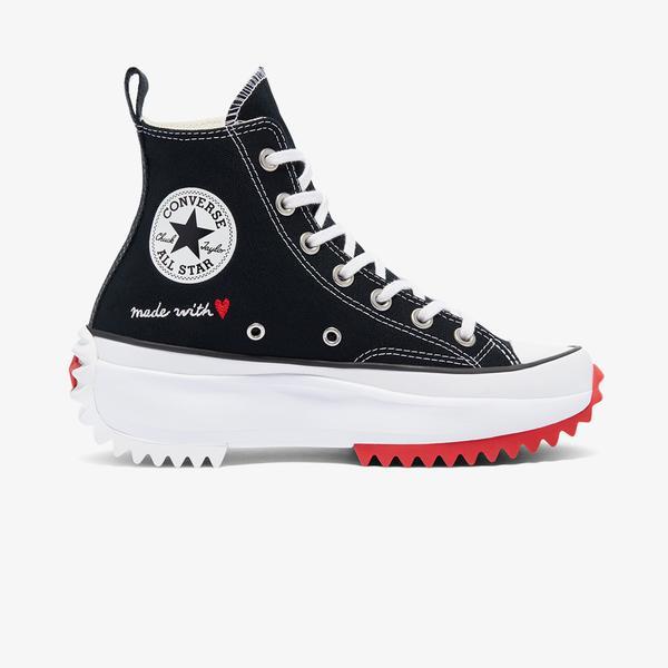 Converse Run Star Hike Hi Unisex Siyah Sneaker