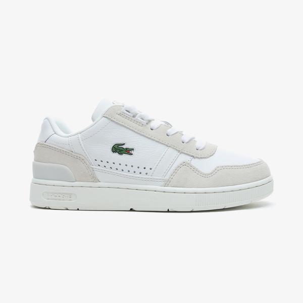Lacoste T-Clip 0721 1 Sfa Kadın Beyaz Spor Ayakkabı