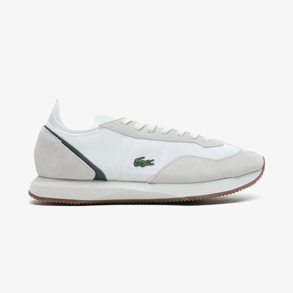 Lacoste Match Break 0721 1 Sma Erkek Beyaz - Koyu Yeşil Spor Ayakkabı