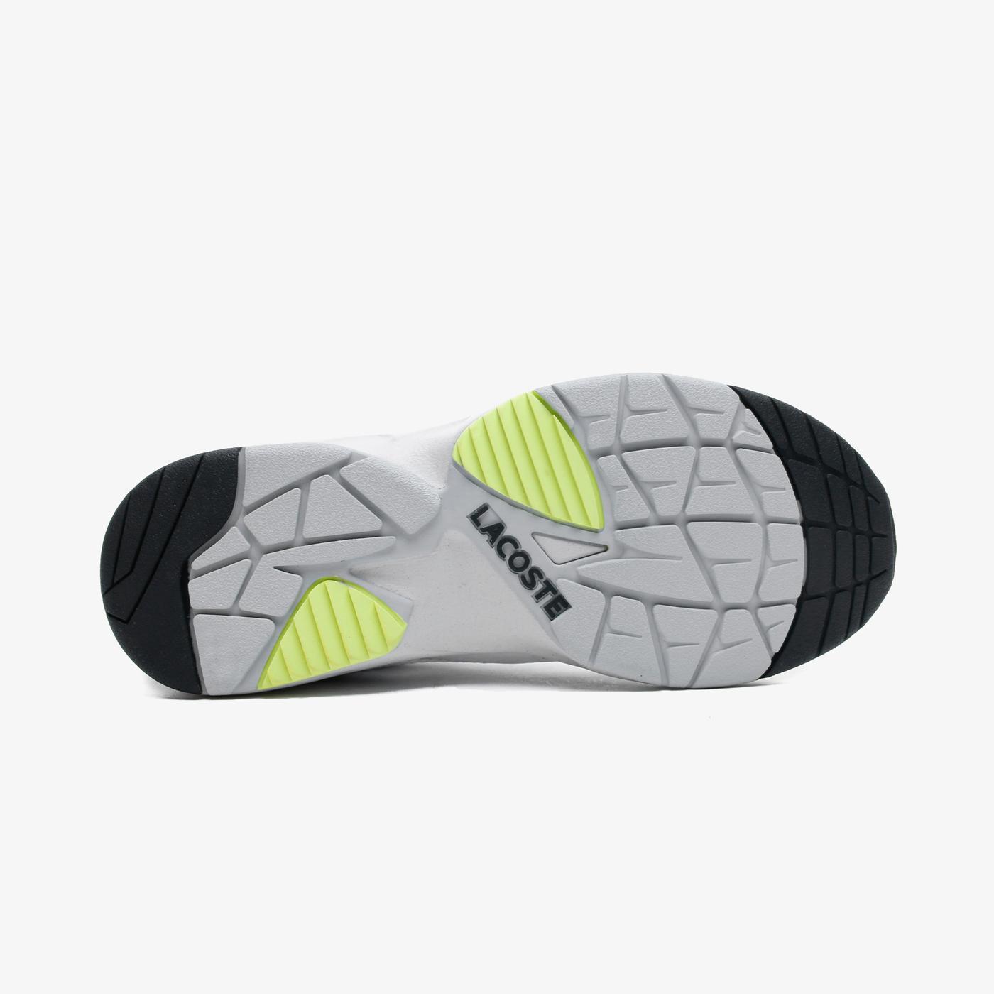 Lacoste Storm 96 Nano07211 Sma Erkek Beyaz - Sarı Spor Ayakkabı