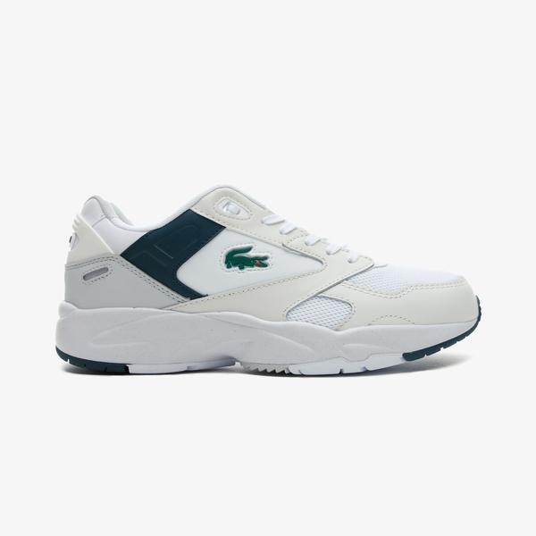 Lacoste Storm 96 Lo 0721 1 Sma Erkek Beyaz - Koyu Yeşil Spor Ayakkabı