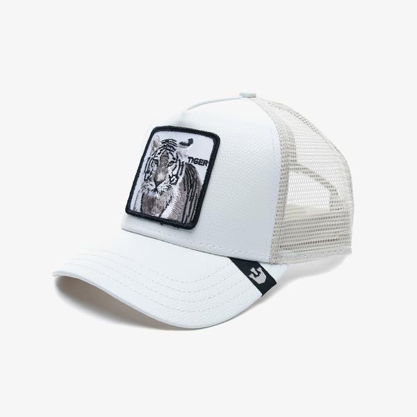 Goorin Bros Killer Tiger Unisex Beyaz Şapka