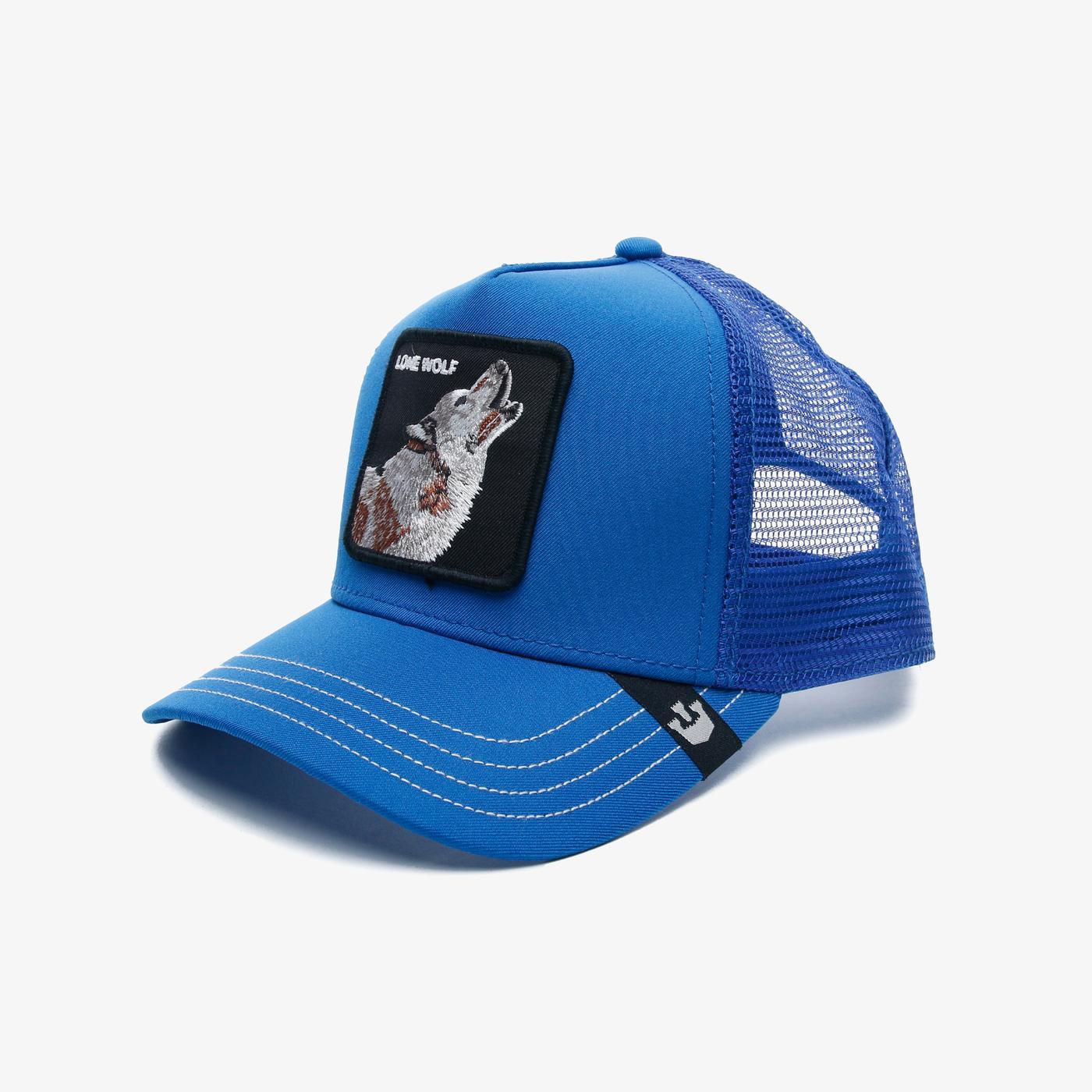 Goorin Bros Wolf Unisex Mavi Şapka