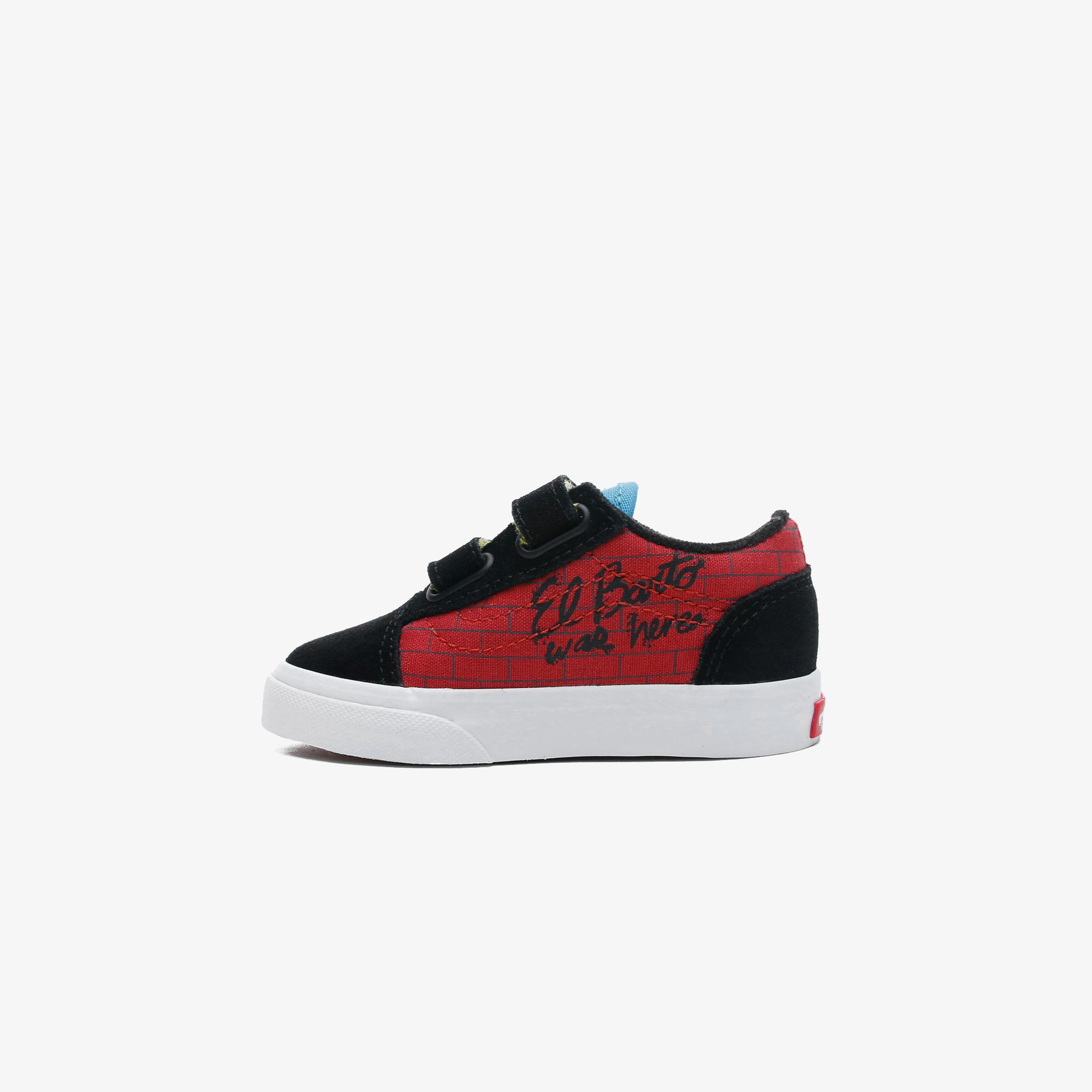 Vans x The Simpsons Bebek Kırmızı Spor Ayakkabı