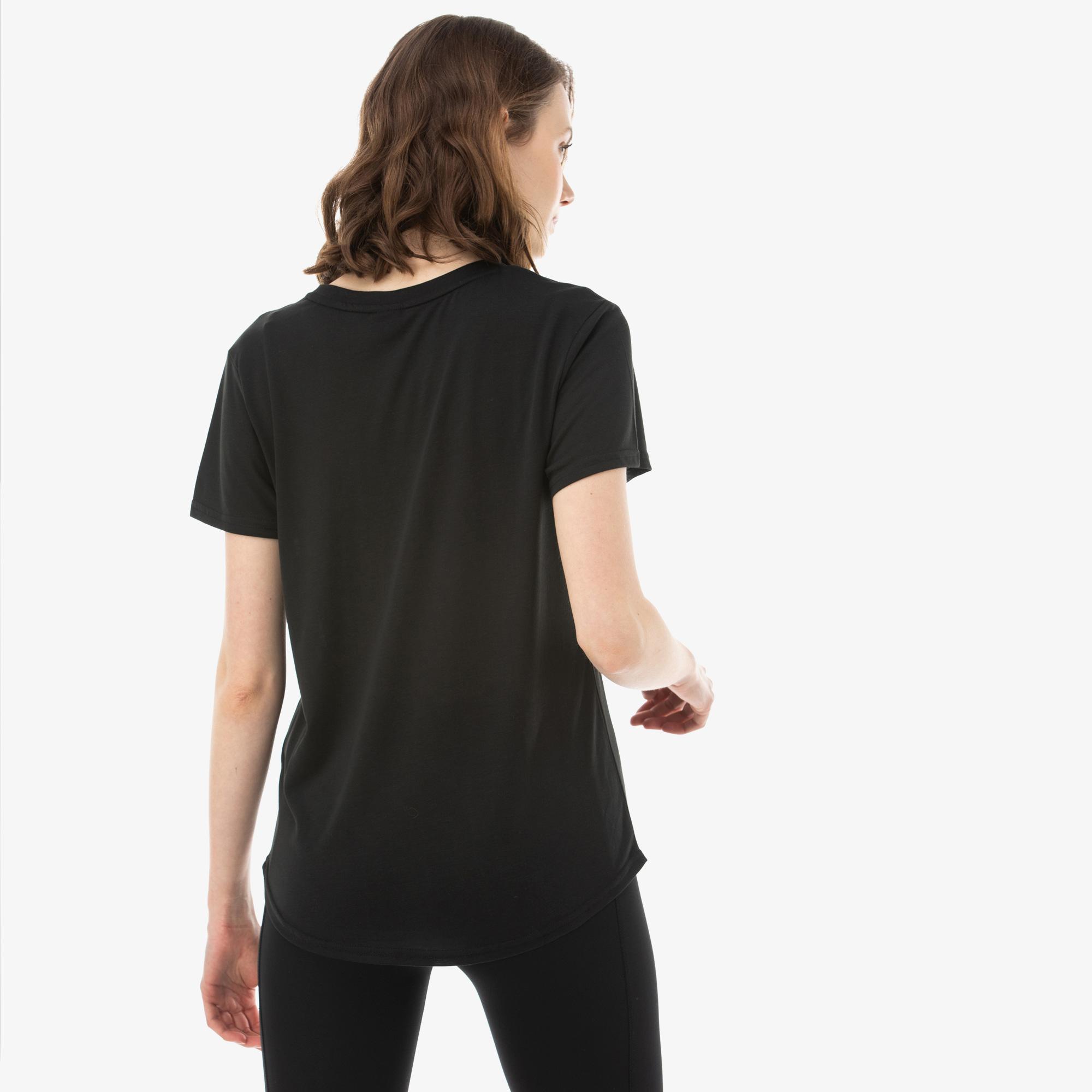 Puma Evostripe Kadın Siyah T-Shirt