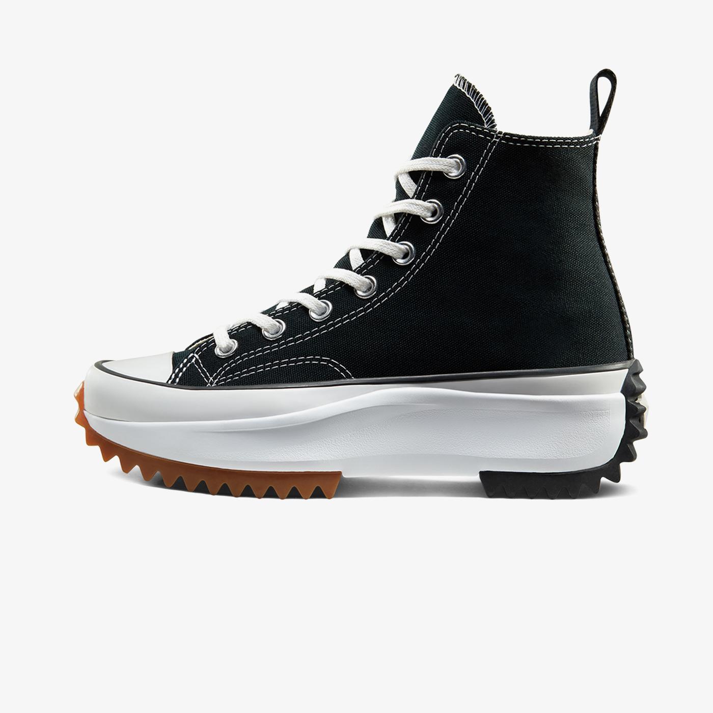 Converse Run Star Hike Lugged Hi Unisex Siyah Sneaker
