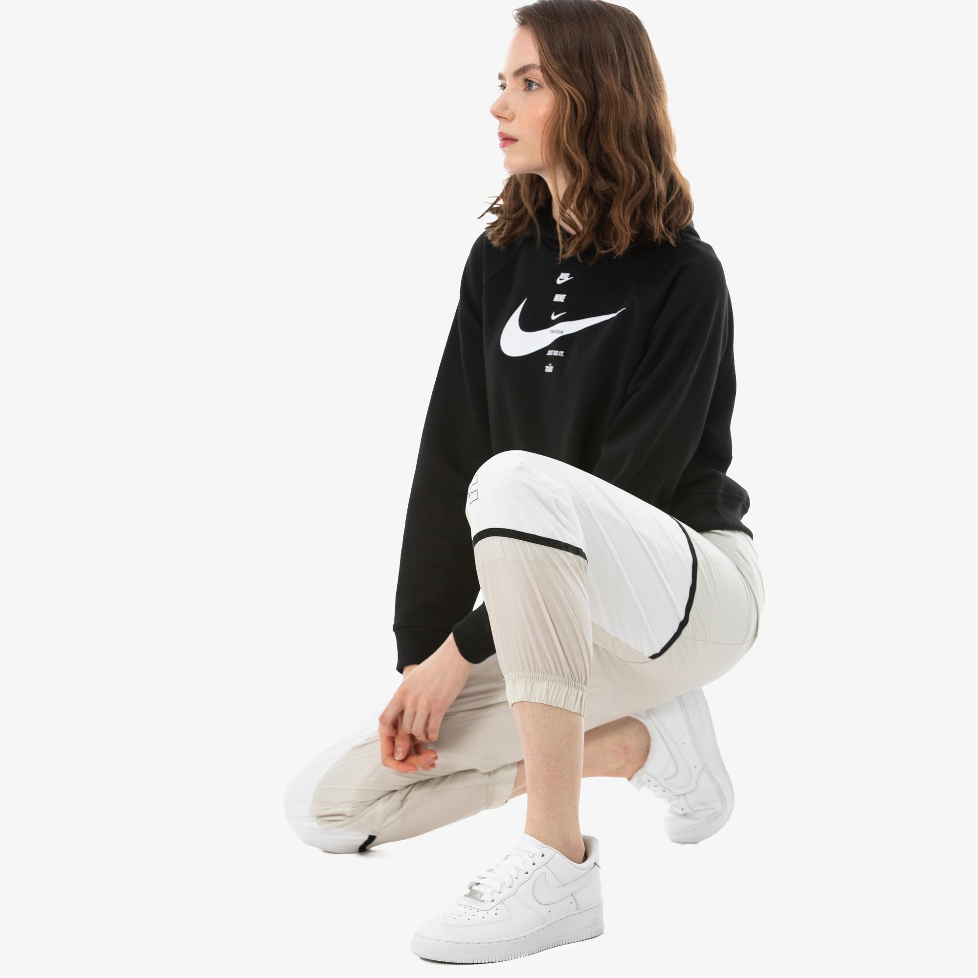 Nike Sportswearvn Archive Rmx Kadın Beyaz Eşofman Altı