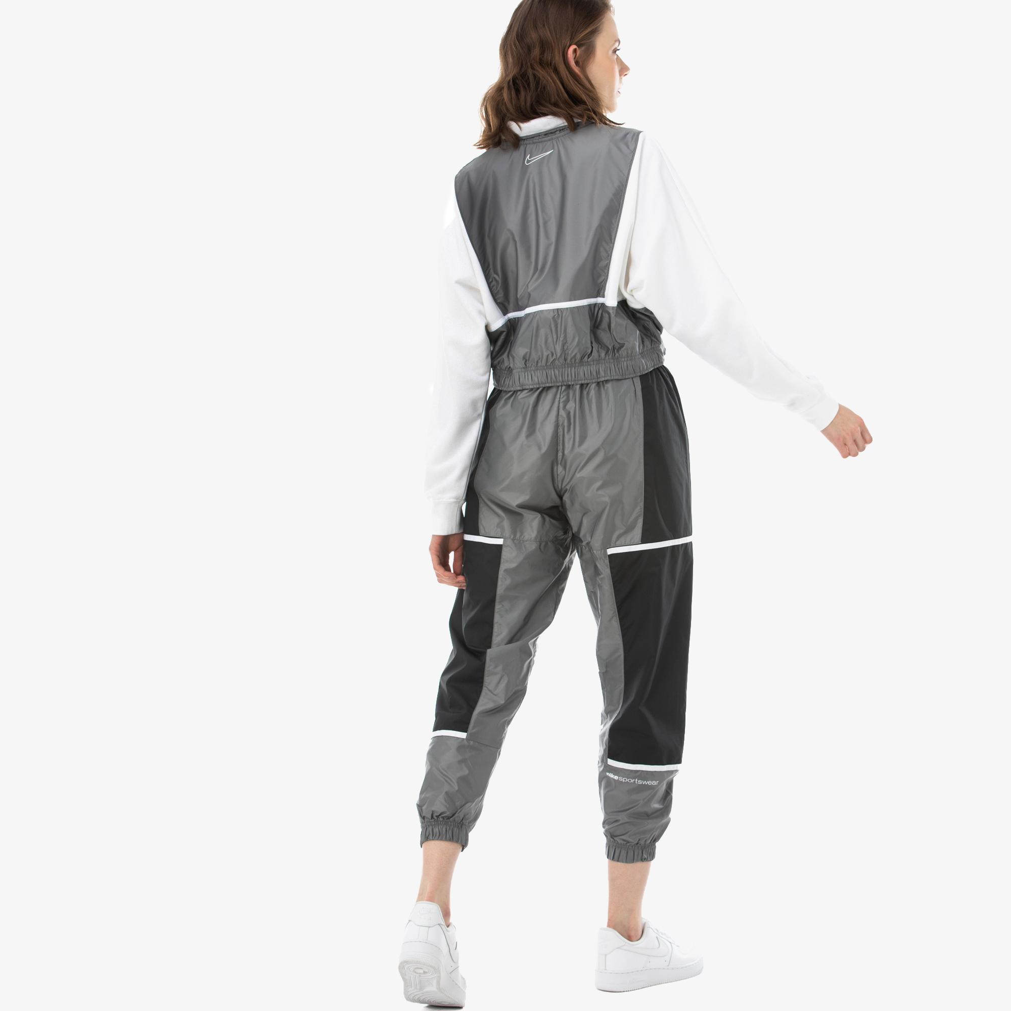 Nike Sportswearvn Archive Rmx Kadın Gri Eşofman Altı