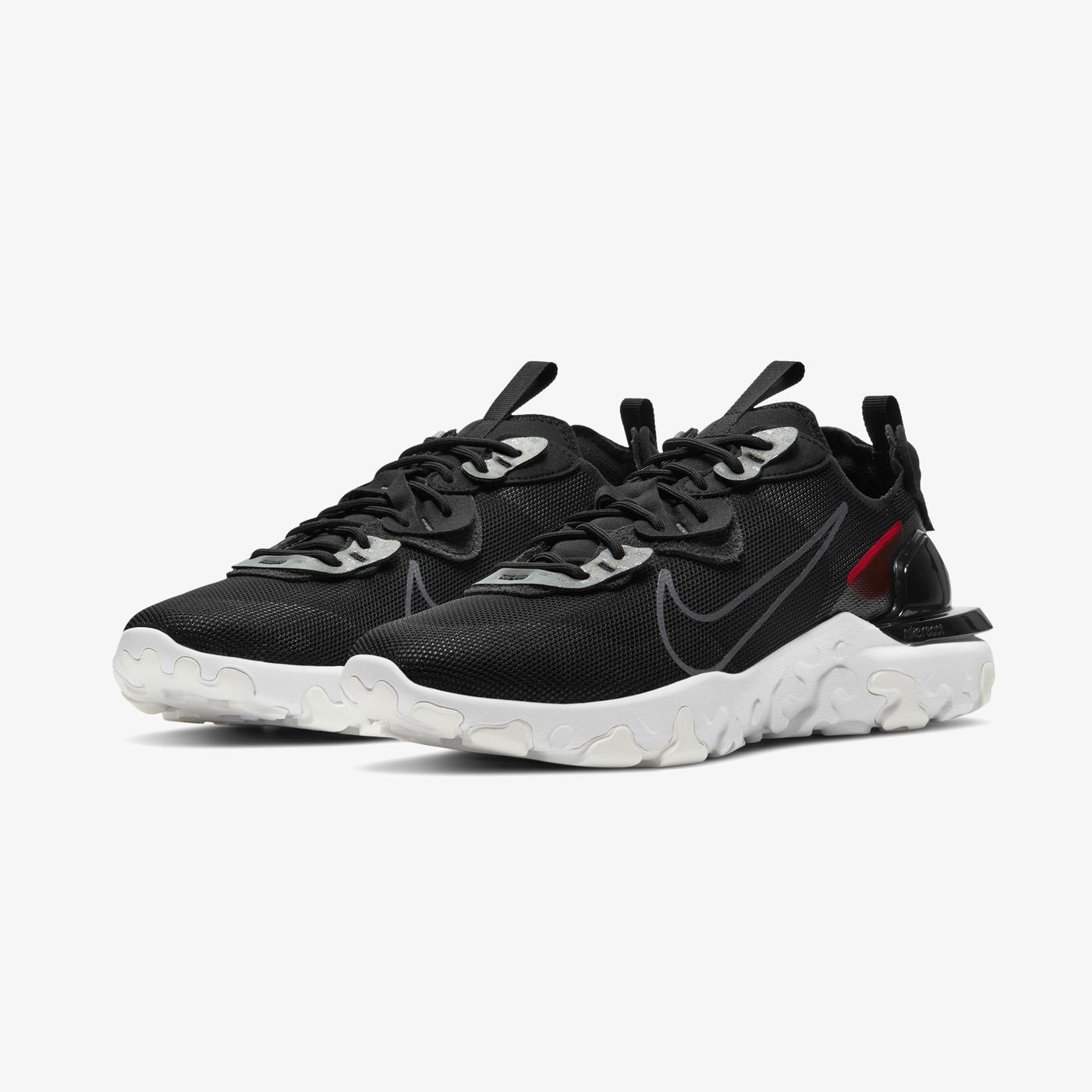 Nike React Vision 3M Erkek Siyah Spor Ayakkabı