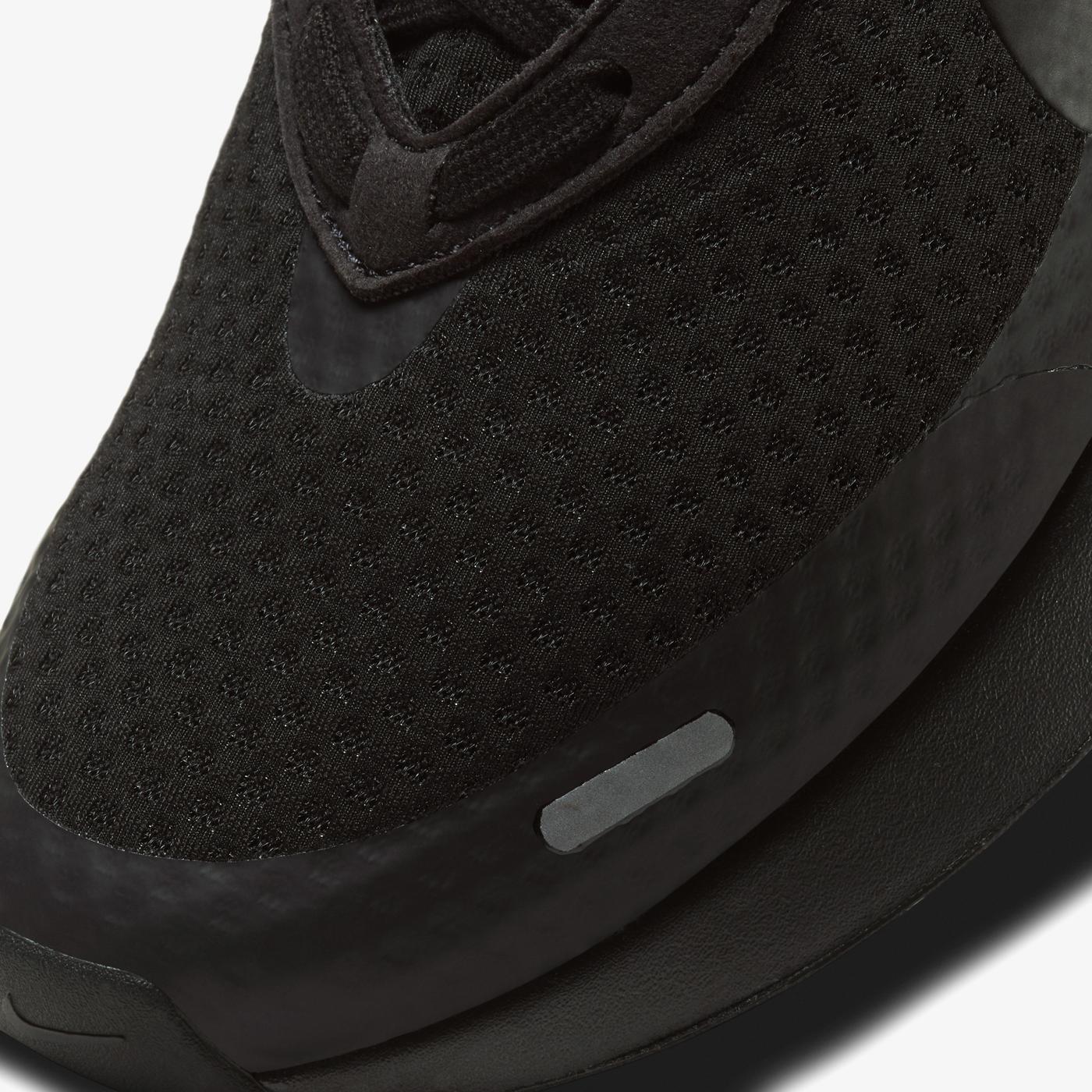 Nike Reposto Erkek Siyah Spor Ayakkabı