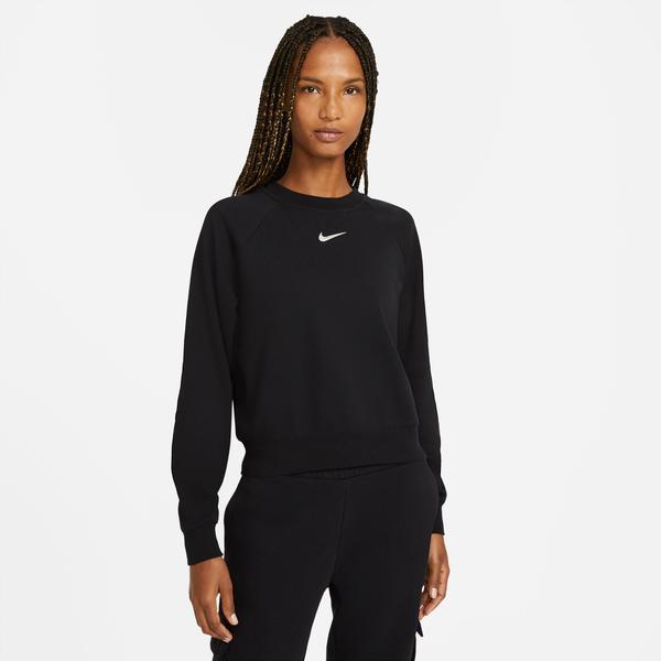 Nike Swoosh Kadın Siyah Sweatshirt