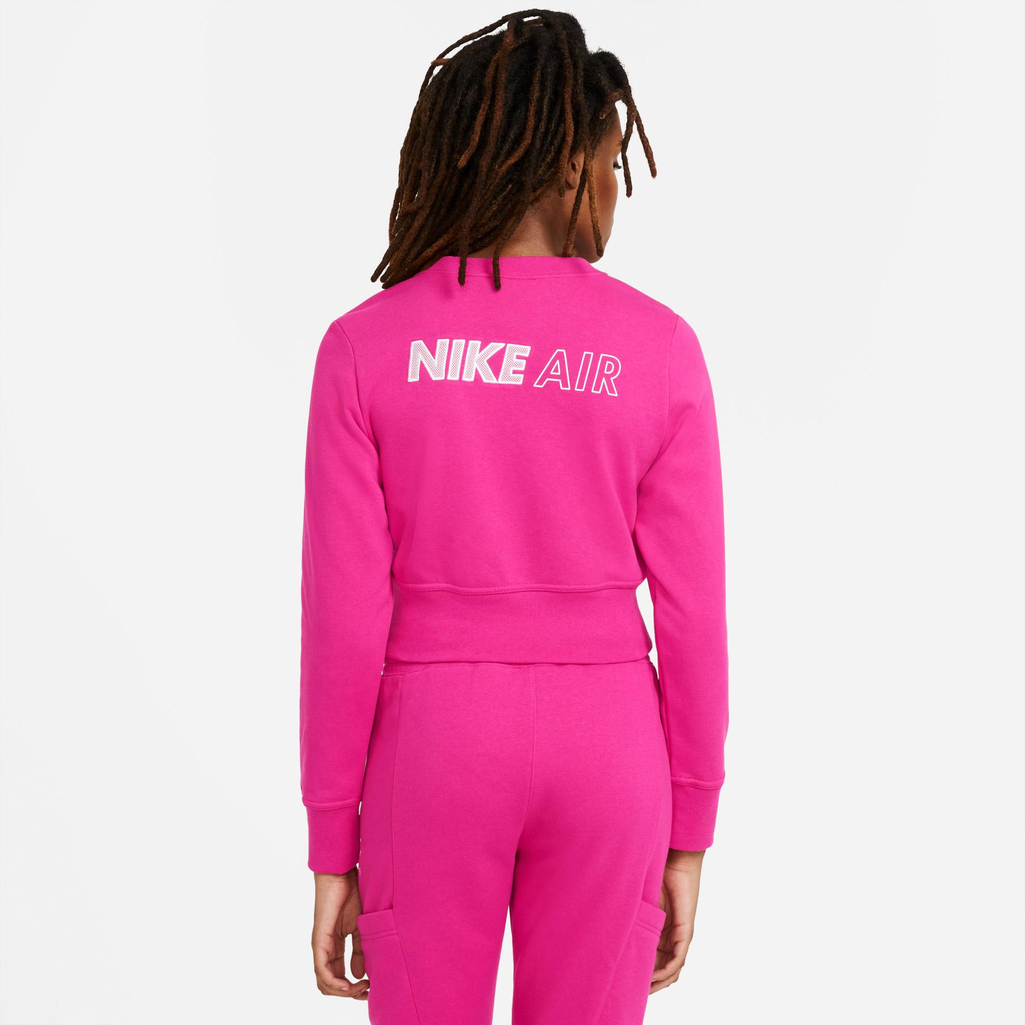 Nike Air Kadın Pembe Sweatshirt