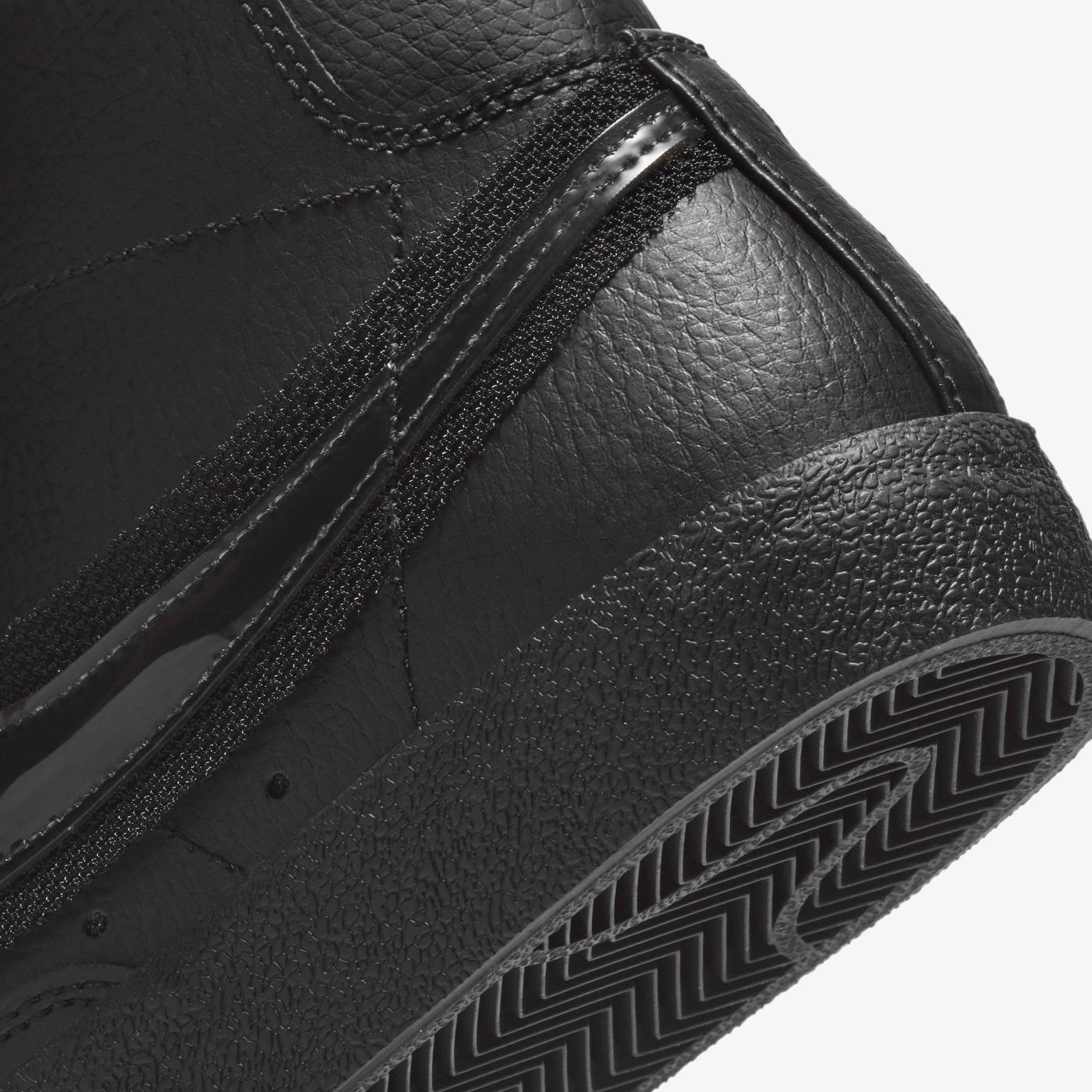 Nike Blazer Mid '77 Kadın Siyah Spor Ayakkabı