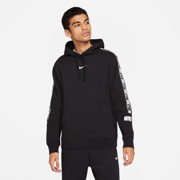 Nike Repeat Erkek Siyah Sweatshirt