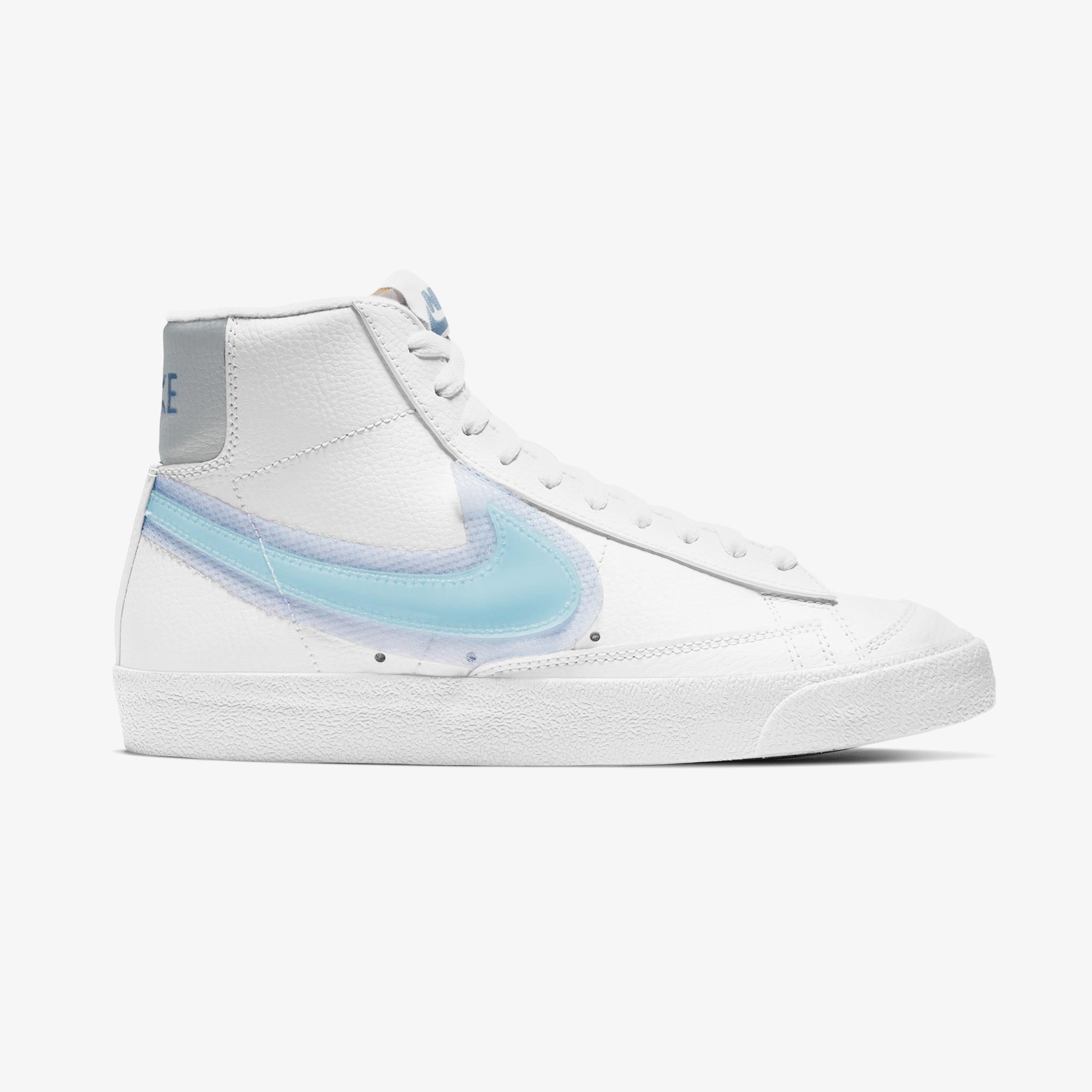 Nike Blazer Mid '77 Kadın Beyaz Spor Ayakkabı