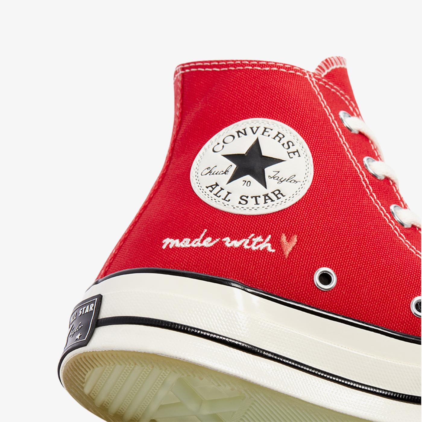 Converse Valentine's Day Chuck 70 Hi Unisex Kırmızı Sneaker