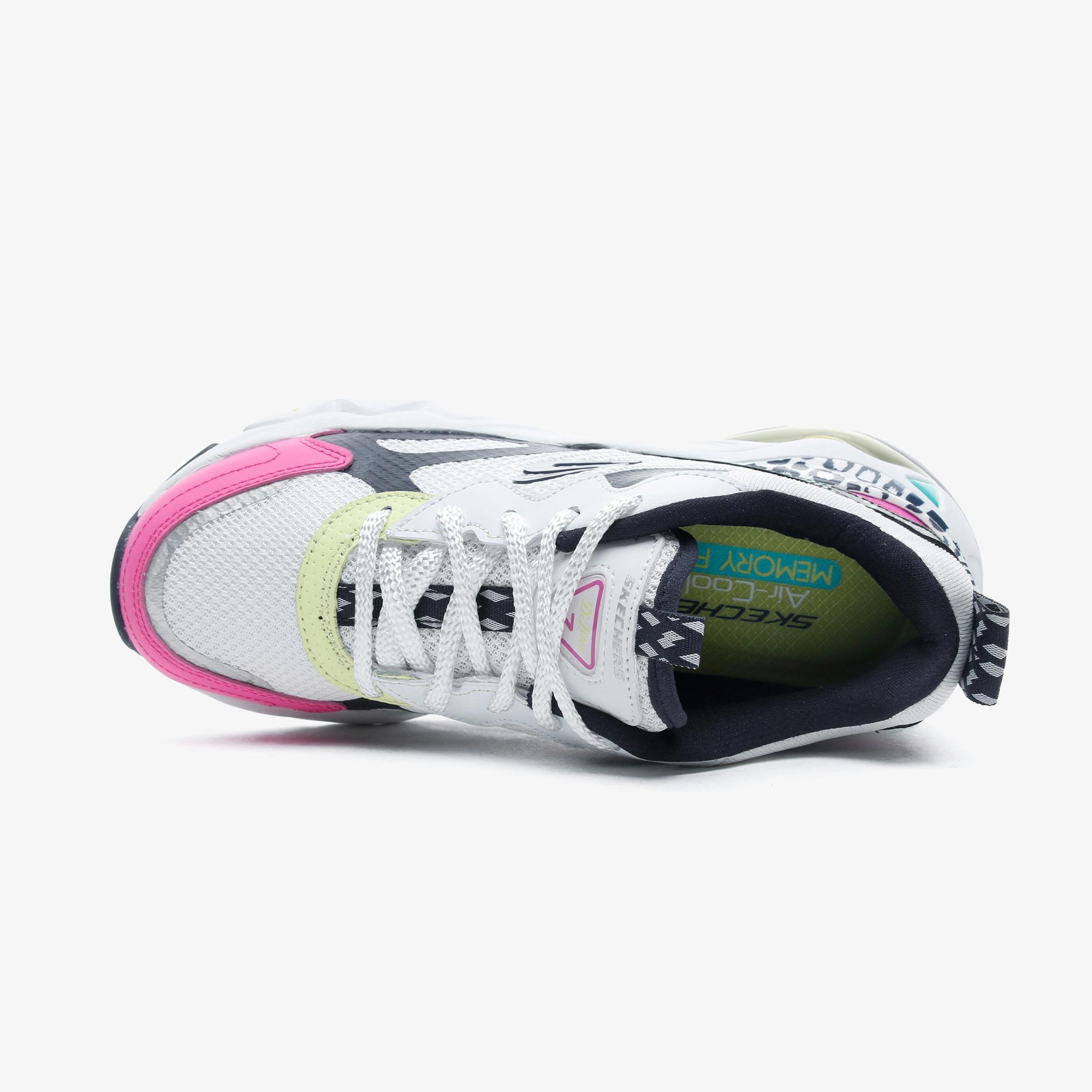 Skechers D'Lites 3.0 Air-Wild Days Kadın Beyaz Spor Ayakkabı