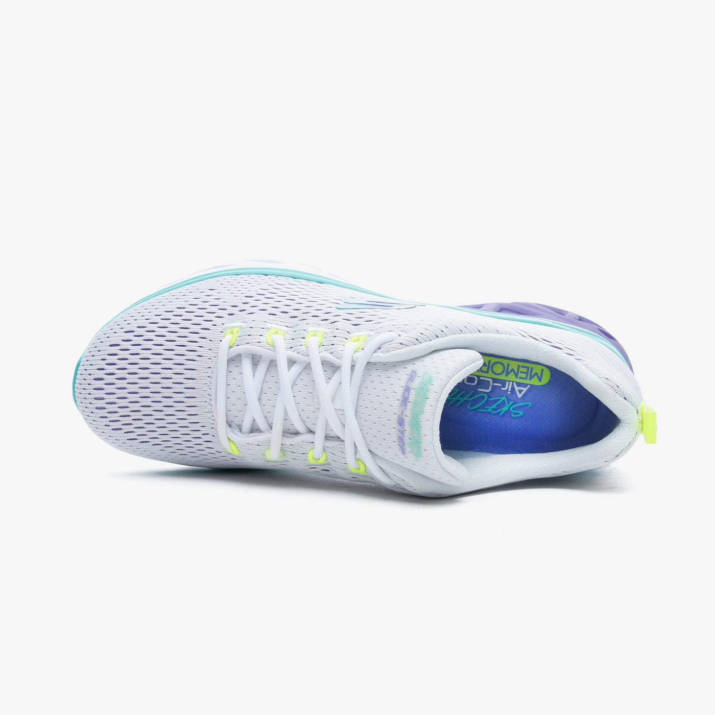 Skechers Glide Step Sport-Wave Heat Kadın Beyaz Spor Ayakkabı