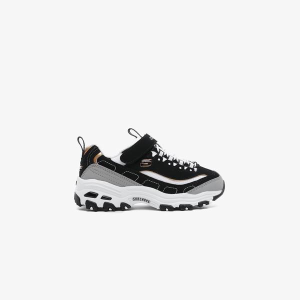 Skechers D'Lites Siyah Çocuk Spor Ayakkabı