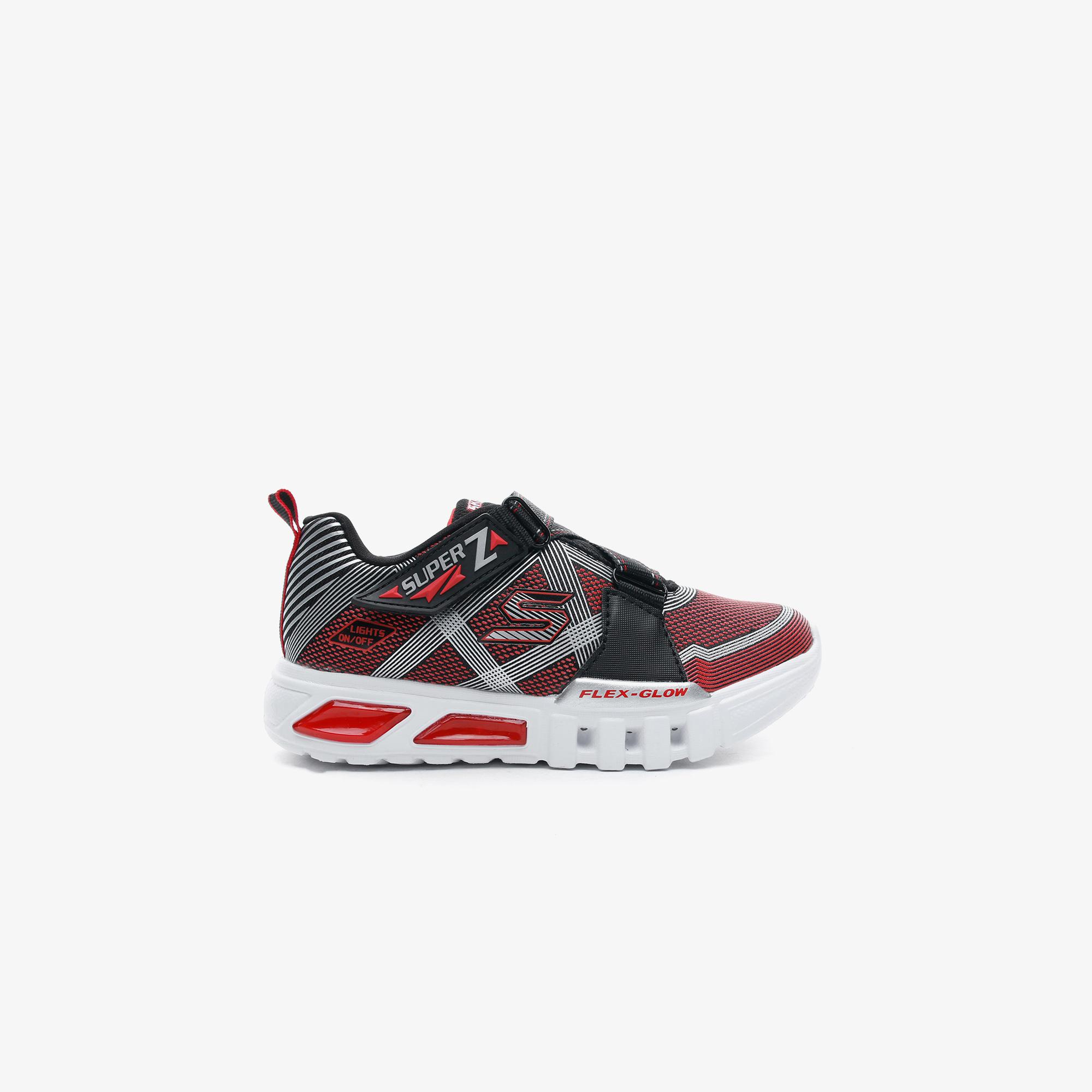 Skechers Flex-Glow - Parrox Çocuk Siyah Spor Ayakkabı
