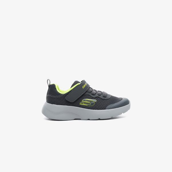 Skechers Dynamight 2.0 - Vordix Çocuk Gri Spor Ayakkabı