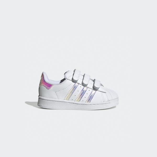 adidas Superstar Bebek Beyaz Spor Ayakkabı