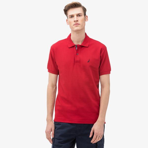 Nautica Erkek Classic Fit Kırmızı Polo