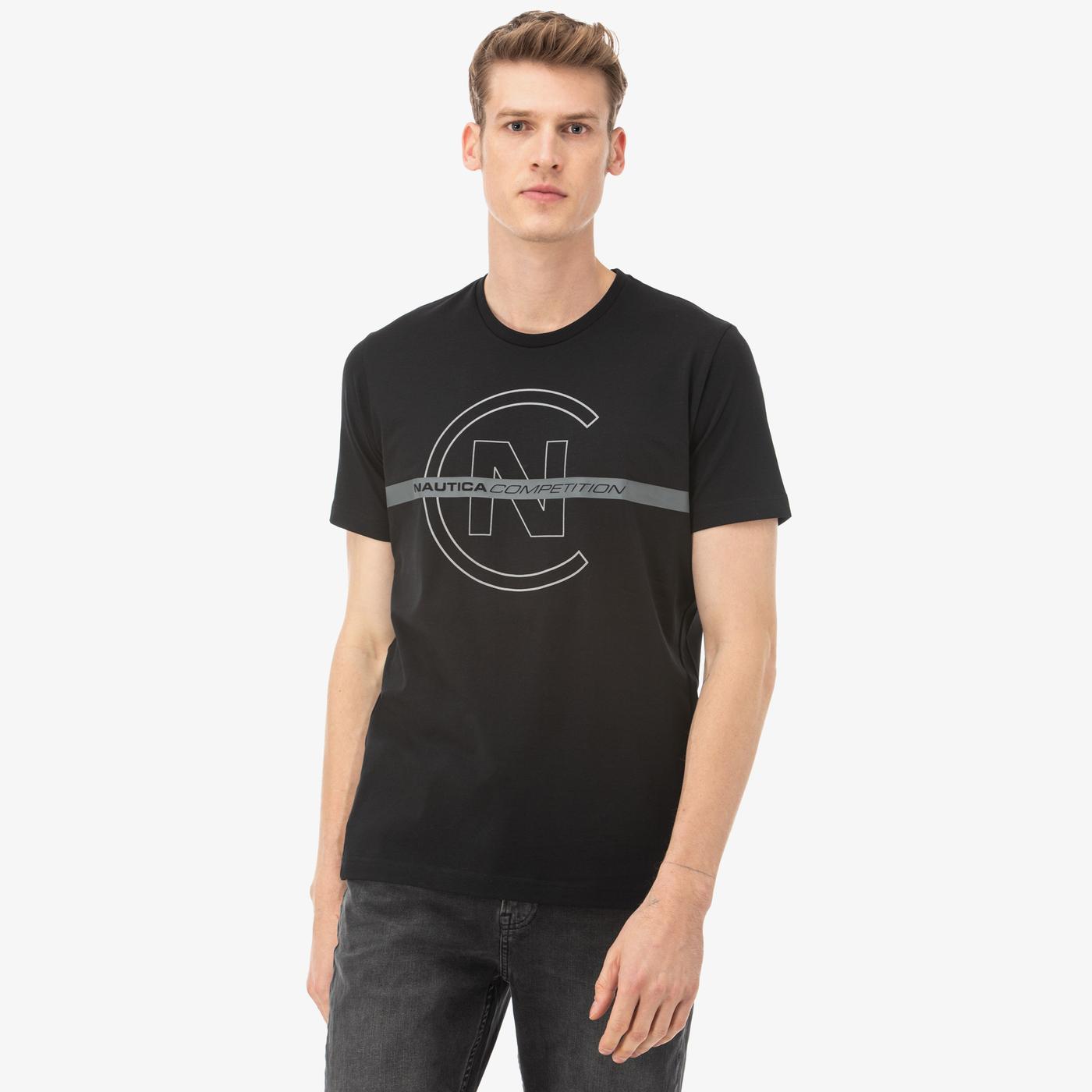 Nautica Erkek Siyah T-Shirt