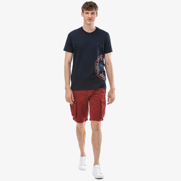 Nautica Erkek Kırmızı Bermuda Şort