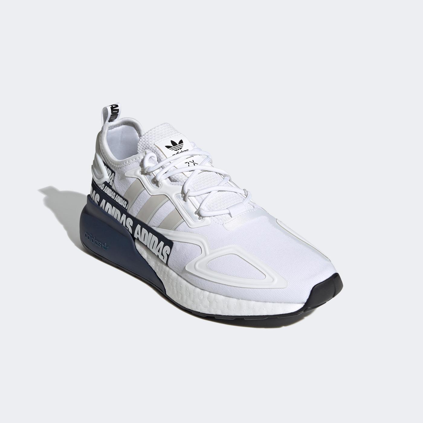 adidas ZX 2K Boost Erkek Beyaz Spor Ayakkabı