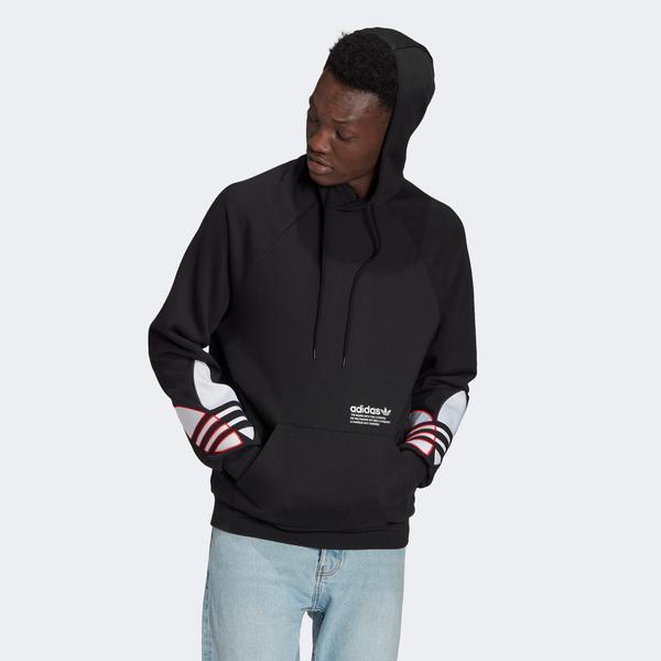 adidas Tricol Erkek Siyah Sweatshirt