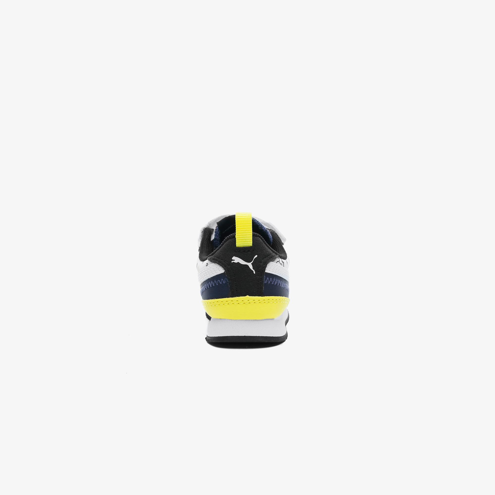 Puma Peanuts R78 Bebek Siyah Spor Ayakkabı