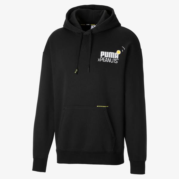 Puma X Peanuts Erkek Siyah Sweatshirt