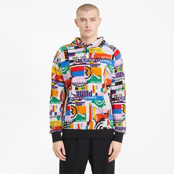 Puma International Erkek Beyaz Sweatshirt