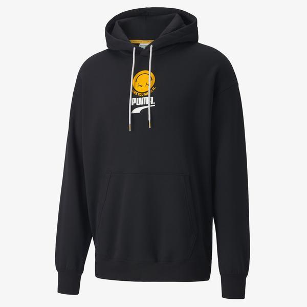 Puma Club Erkek Siyah Sweatshirt