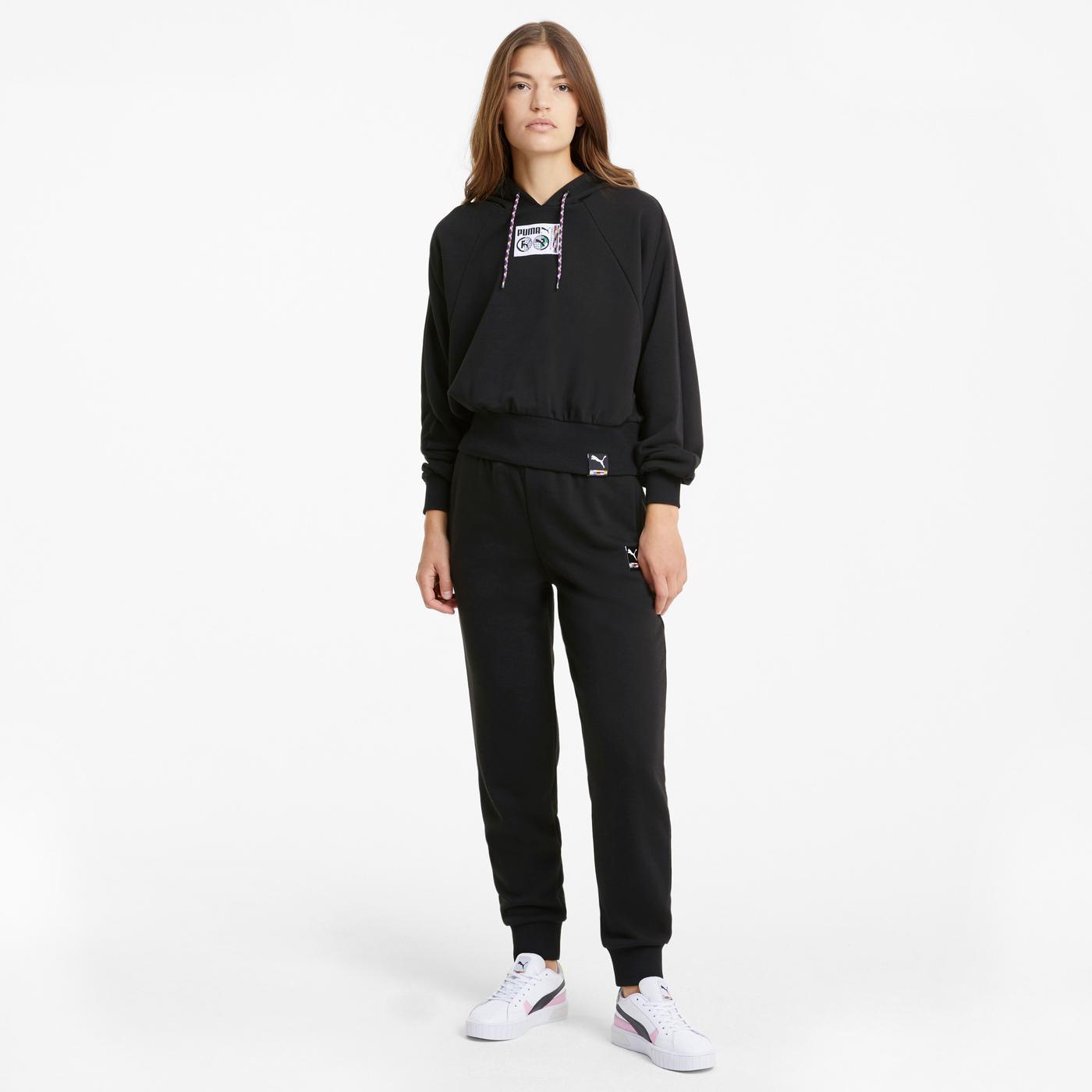 Puma International Kadın Siyah Sweatshirt